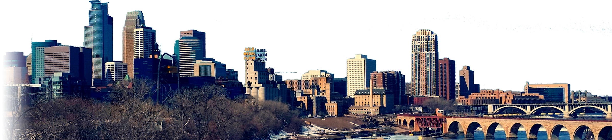 Minneapolis, MN Skyline